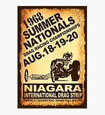 Niagara Summer Nationals Photographic Print