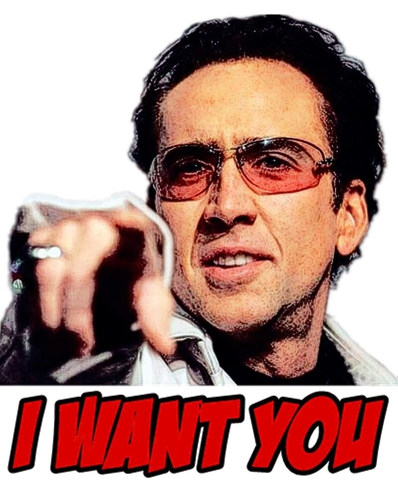 Nicolas Cage  by roserosa