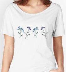 Forget-Me-Nots Women's Relaxed Fit T-Shirt