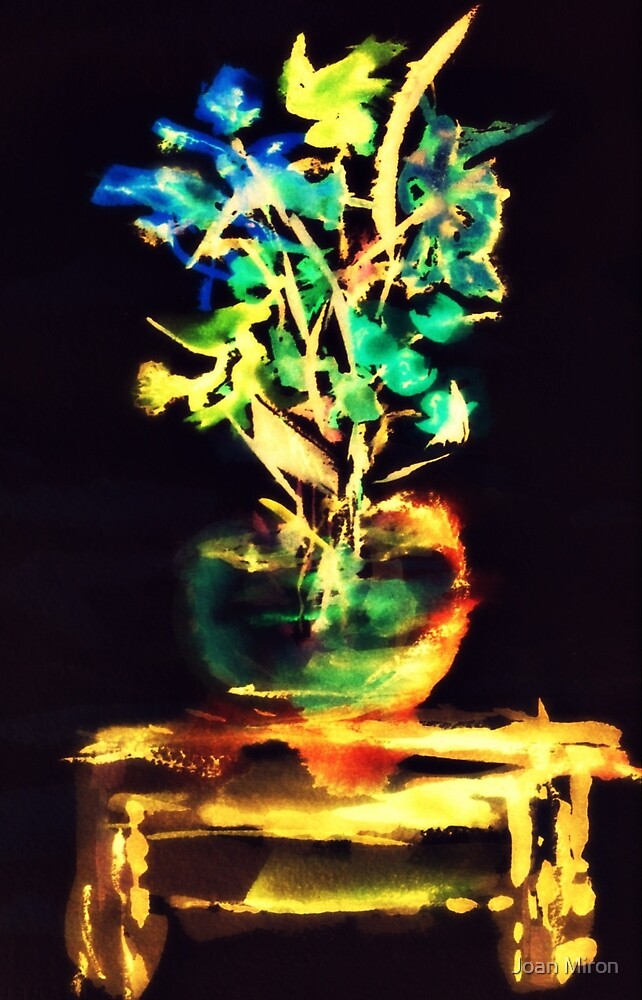 Solitary Floral by Joan Miron