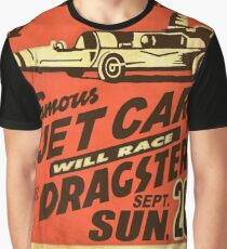 Jet Car Graphic T-Shirt