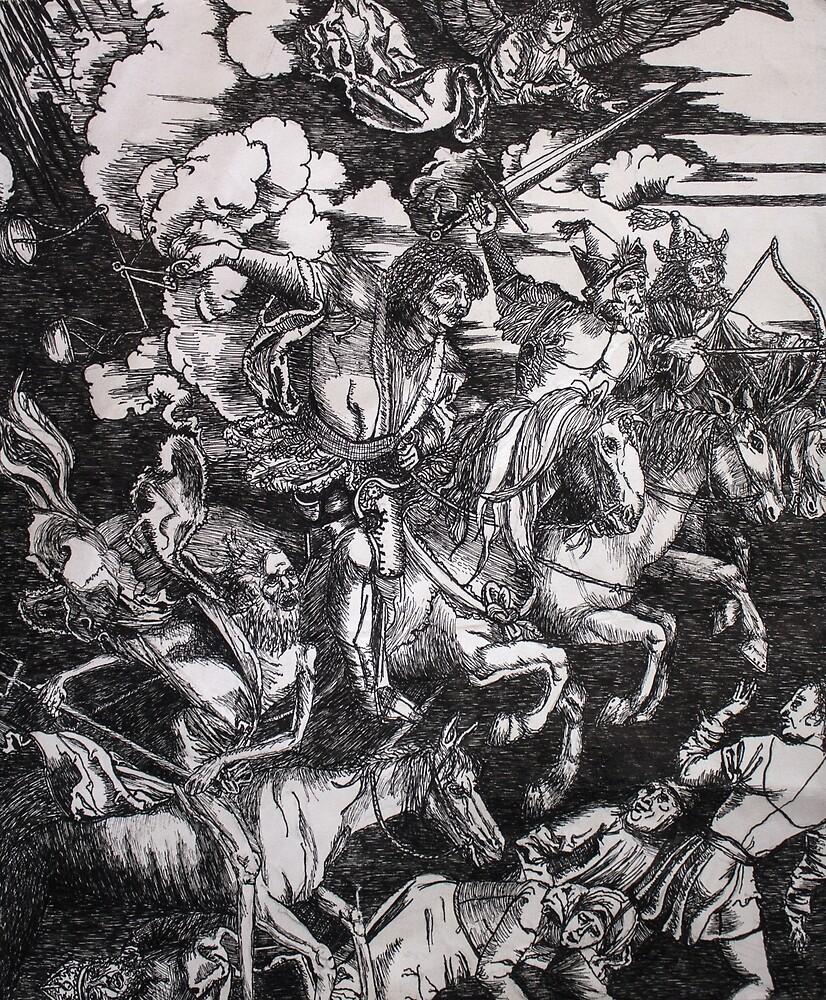 4 Horsemen of the Apocalypse by OffOn