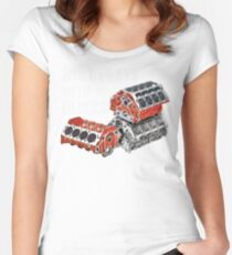 Still Plays With Blocks Women's Fitted Scoop T-Shirt