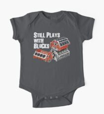 Still Plays With Blocks One Piece - Short Sleeve