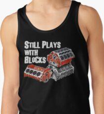 Still Plays With Blocks Tank Top