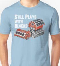 Still Plays With Blocks Unisex T-Shirt