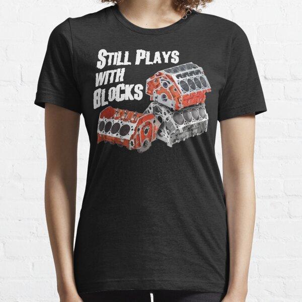 Spielt immer noch mit Blöcken Essential T-Shirt