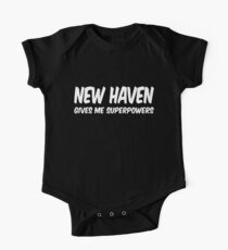 New Haven Superpowers T-shirt Baby Body Kurzarm