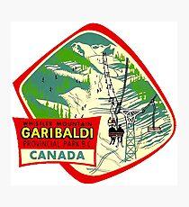 Whistler Mountain Garibaldi Provincial Park BC Photographic Print
