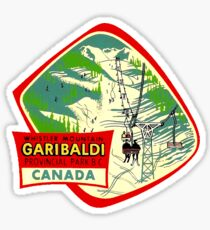 Whistler Mountain Garibaldi Provincial Park BC Sticker