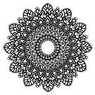 Hand-Drawn Mandala by WelshPixie