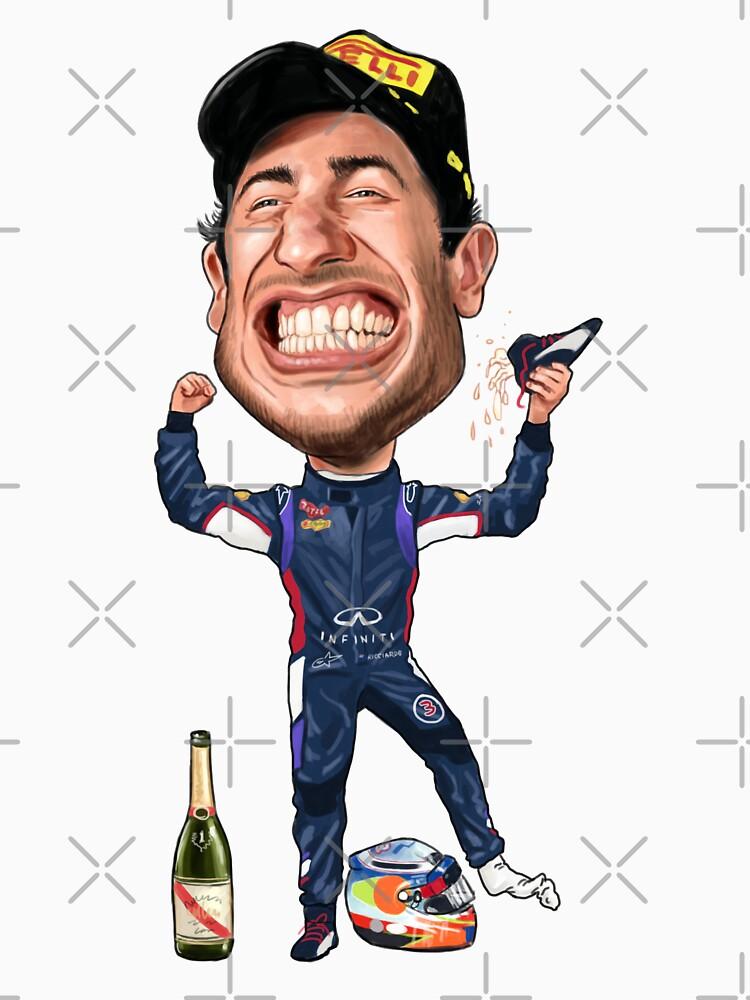 Daniel Ricciardo 2017 by mal108