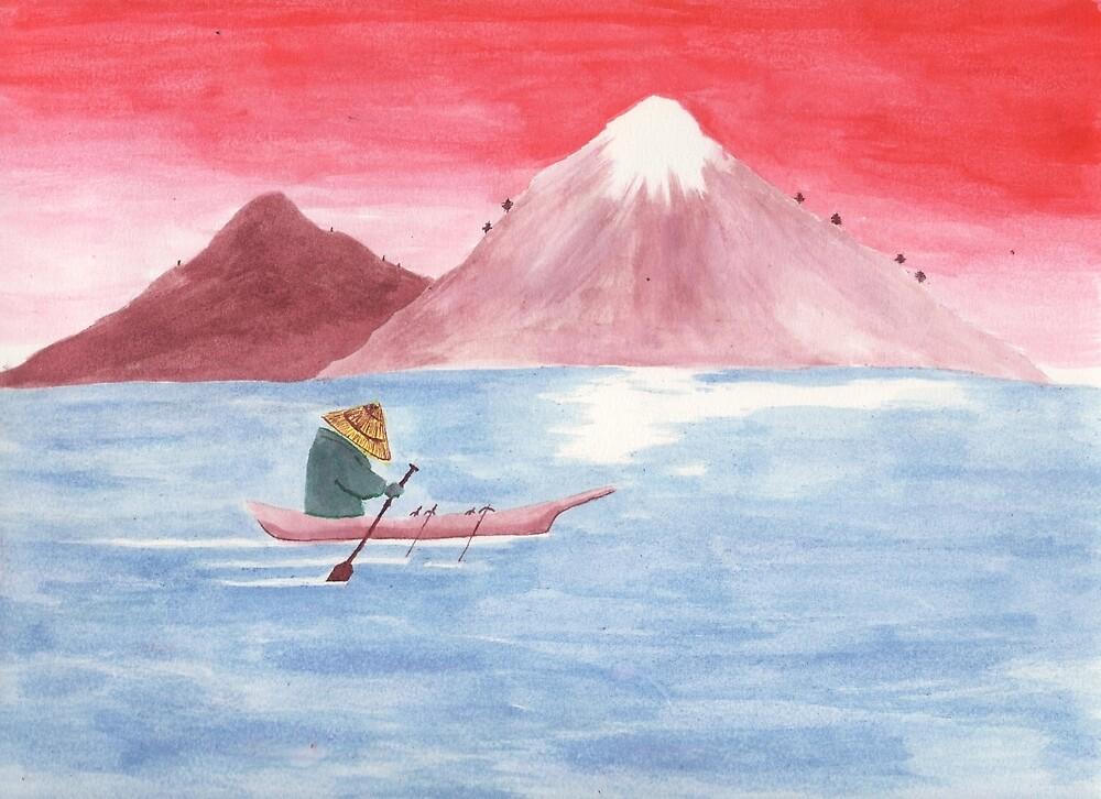 Boatman by Raymond Lowe