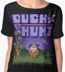 Hunt Duck Chiffon Top