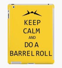 Keep Calm and Do A Barrel Roll iPad Case/Skin