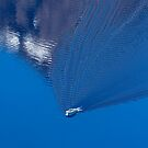 Boat on Crater Lake. 2 by Alex Preiss