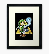 Its Dangerous To Go Alone! Framed Print
