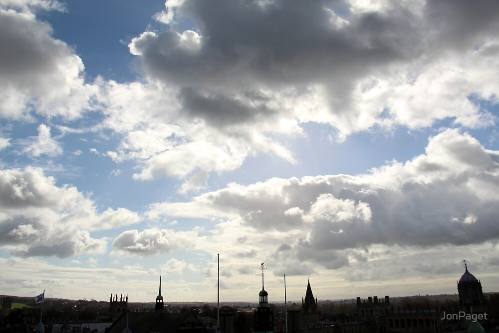 Oxford Spires by JonPaget
