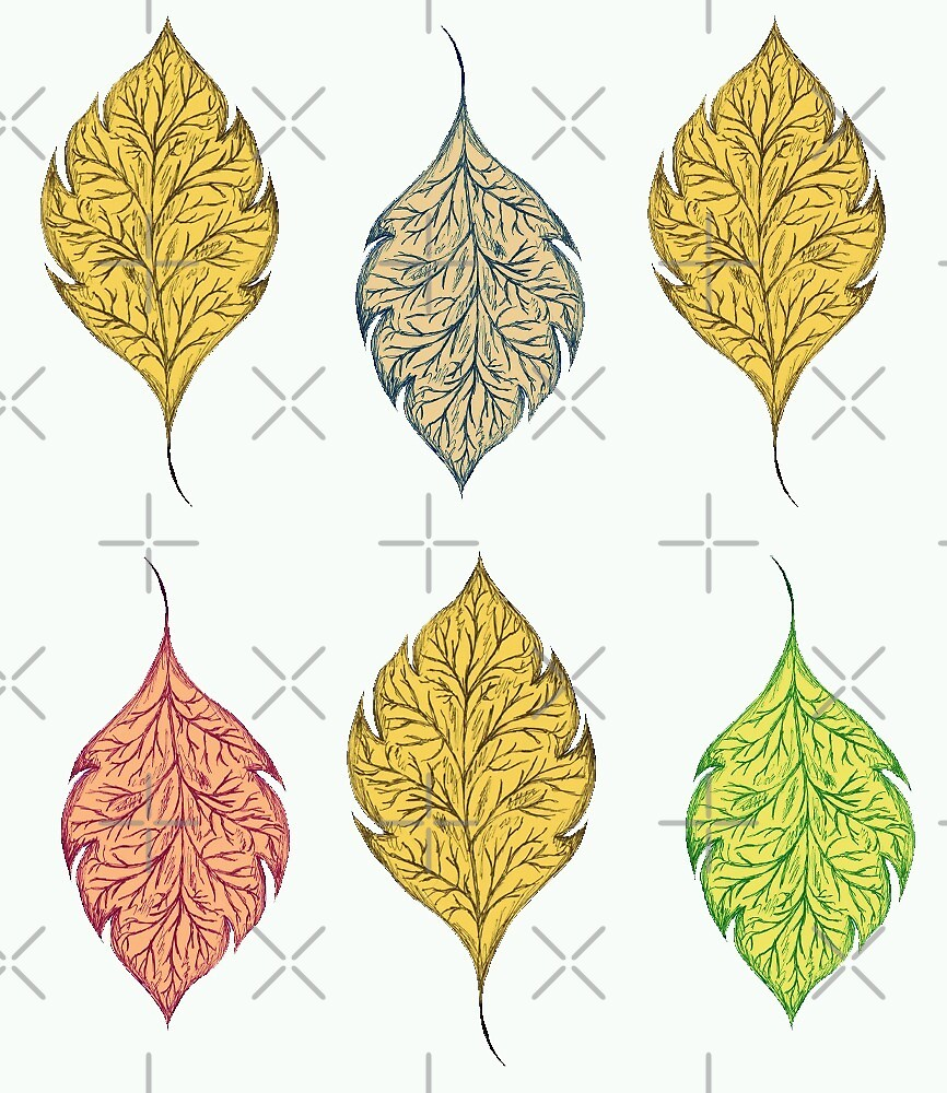 Leaves in the Autumn by ssillustrations