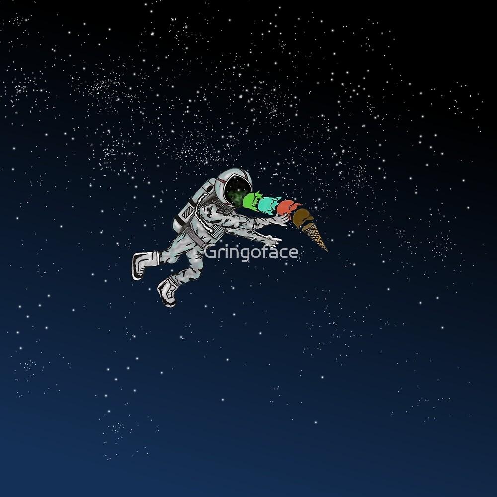 Astronaut Ice Cream by Gringoface