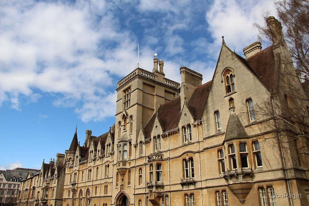Balliol College, Oxford by JonPaget