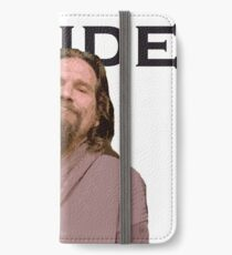 The Dude Shirt iPhone Wallet/Case/Skin