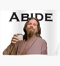 The Dude Shirt Poster