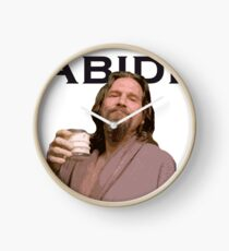 The Dude Shirt Clock