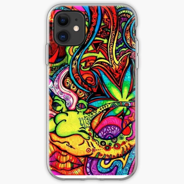 trippy  iPhone Soft Case