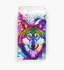 Funda nórdica colorido Lobo