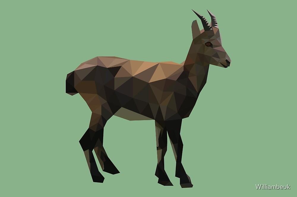Geometric Goat by Williambeuk