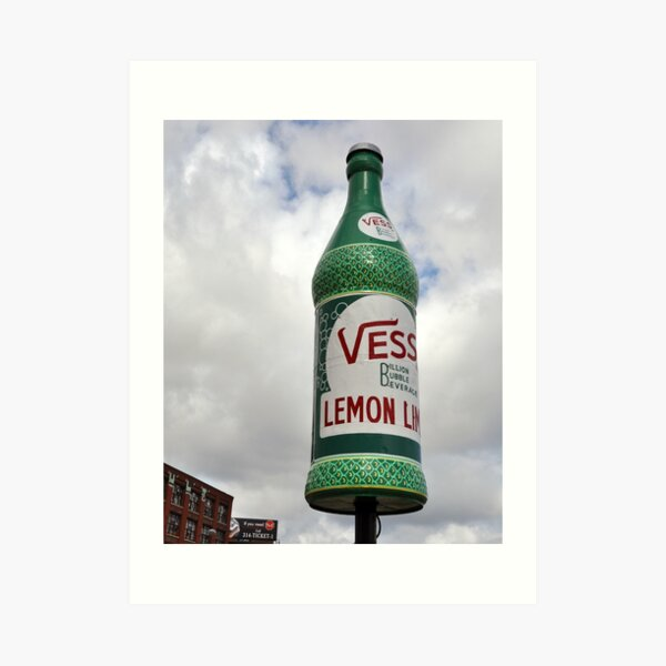 Vess Bottle Art Print