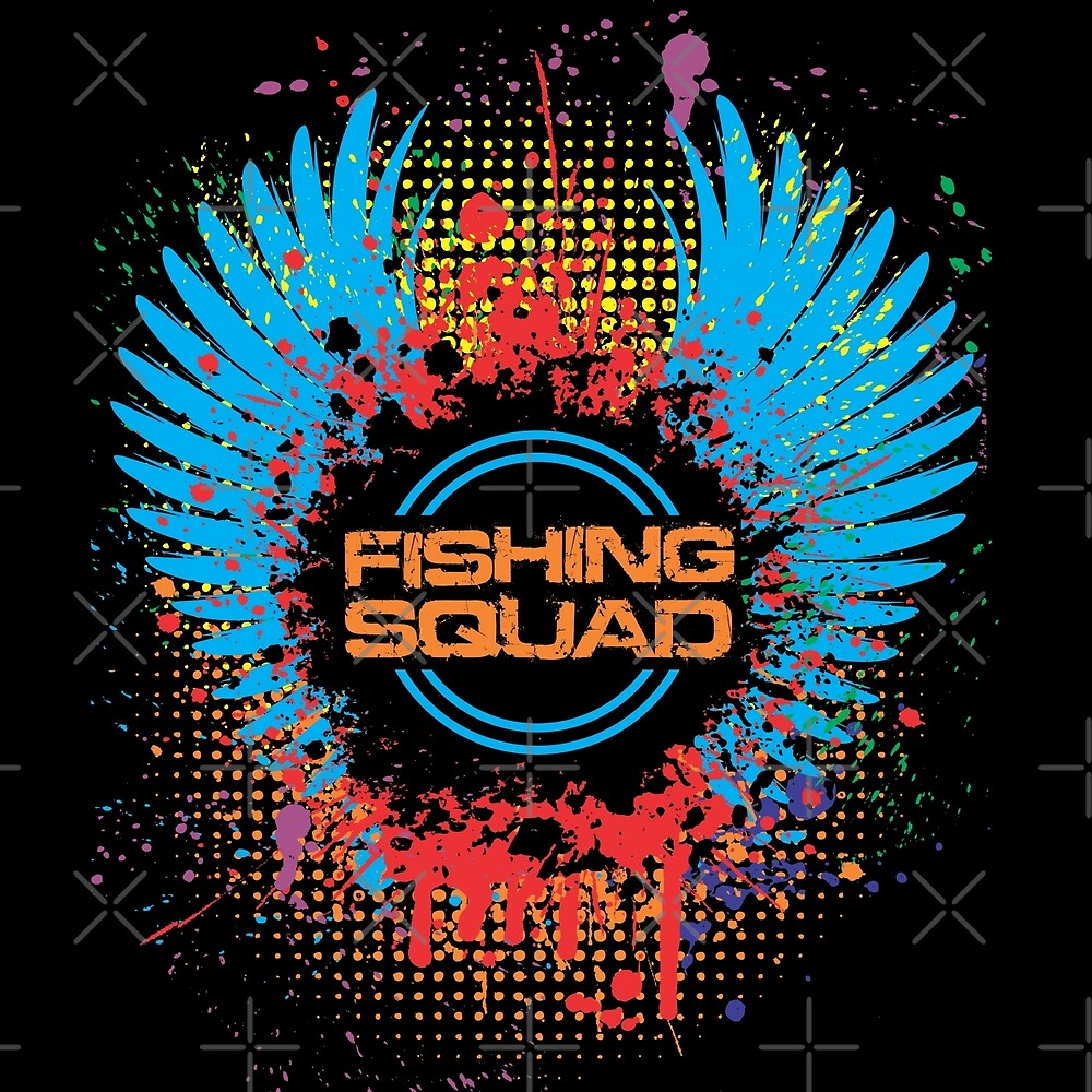 Fishing Squad Graphic by goodspy