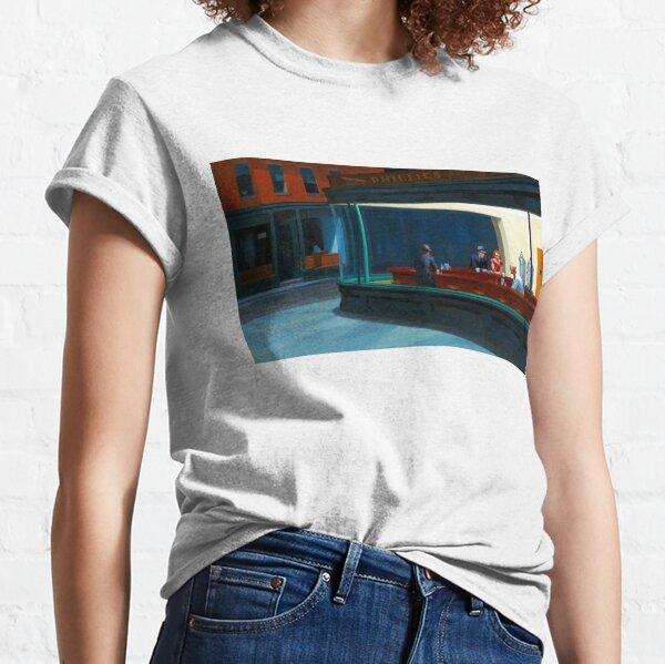"""""""Nighthawks"""" by Edward Hopper (1942) Classic T-Shirt"""