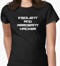 Insolent and Arrogant Women's Fitted T-Shirt