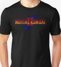 Mortal Kombat 2 (Genesis Title Screen) Unisex T-Shirt