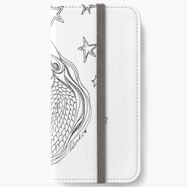 #Mermaid and Stars iPhone Wallet