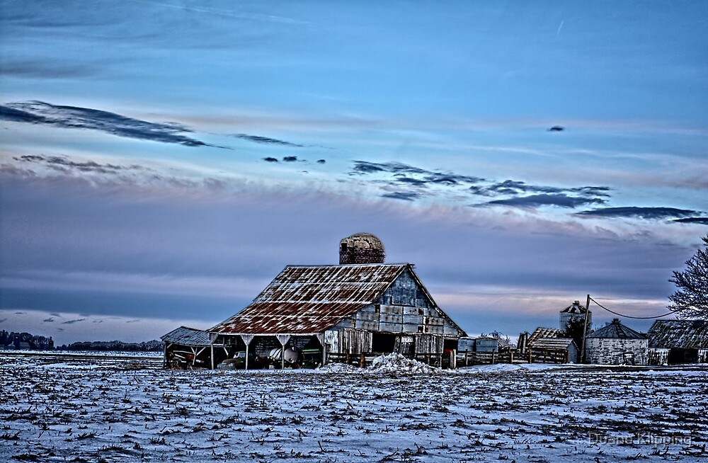 Winter On The Farm by Duane Klipping