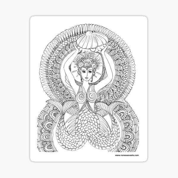 Atargatis – Assyria  The Odest #Mermaid  Sticker