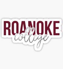 Roanoke College - Style 13 Sticker