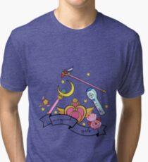 Magical girl Tri-blend T-Shirt