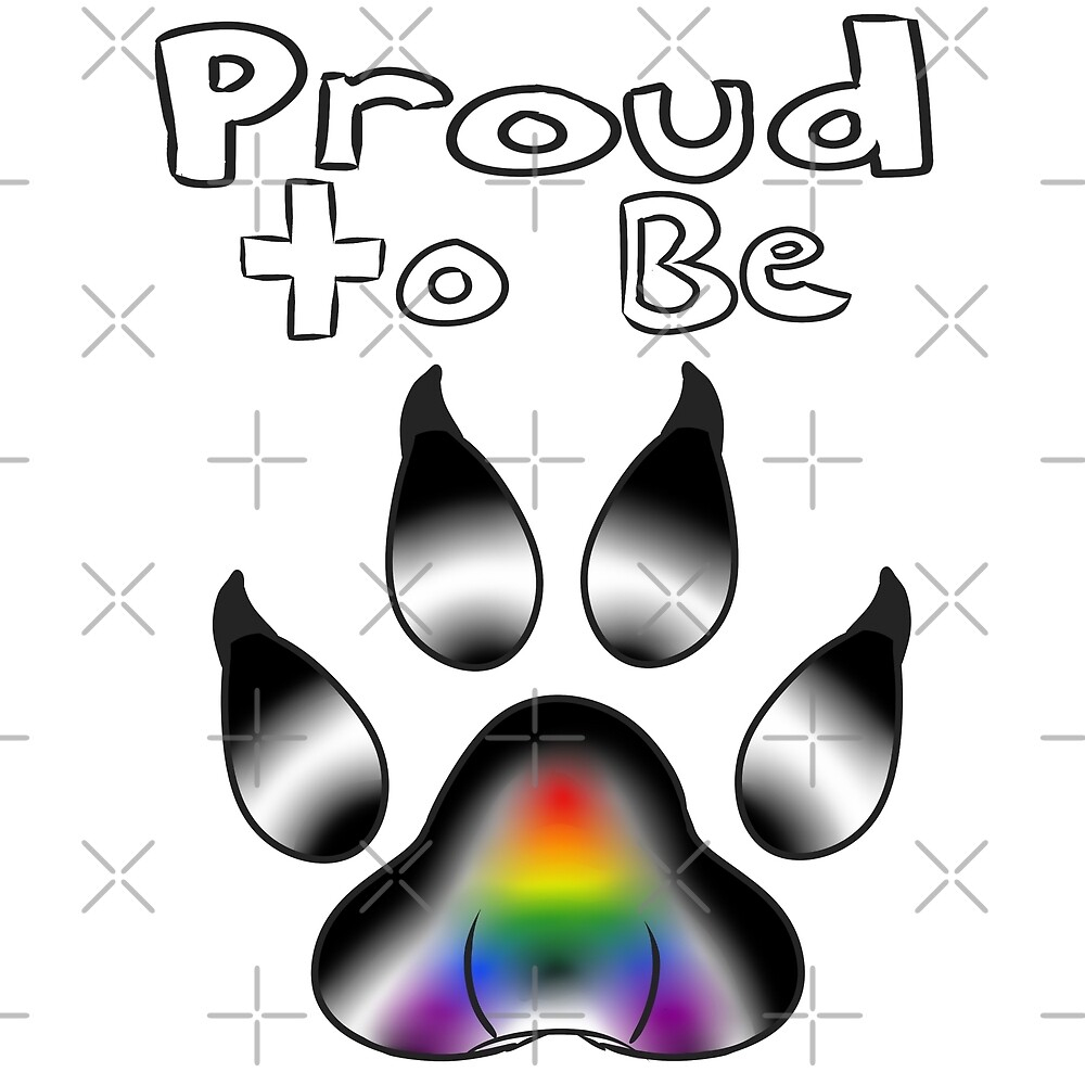 Proud to be Straight Ally Furry by Catdragon7