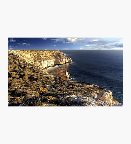 Kalbarri Coastal Cliffs At Sunset Photographic Print