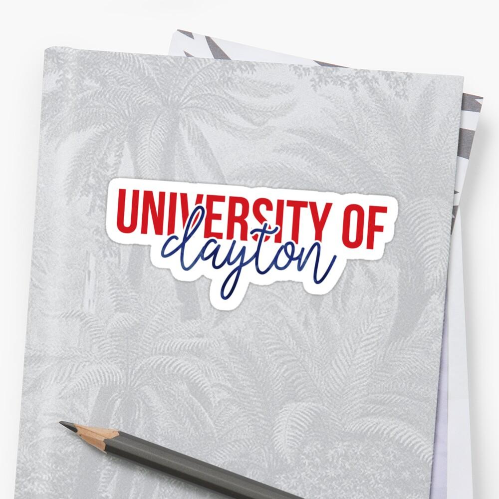 University of Dayton - Style 13 by kayceecolleges