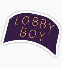 LOBBY BOY Sticker