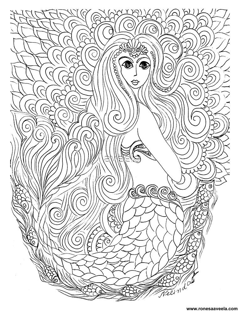 Pania of the Reef  New Zealand #Mermaid by aveela