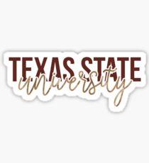 Texas State - Style 13 Sticker