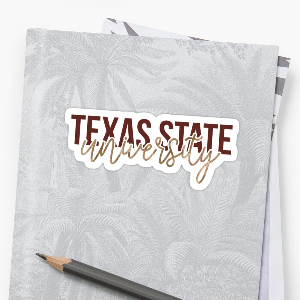 Texas State - Style 13 by kayceecolleges