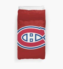 canadiens Duvet Cover
