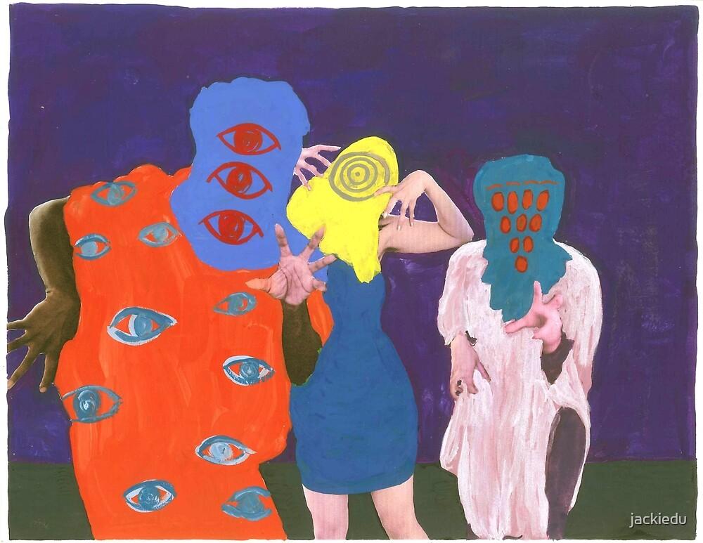 Willie, Jackie, and Athena by jackiedu